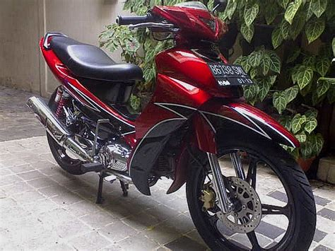 Sticker Striping Motor Stiker Yamaha Jupiter Mx Tech3 Kombinasi Spec kumpulan modifikasi motor jupiter z otomodif
