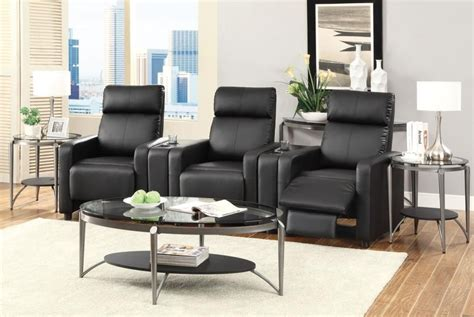 Home Theater Seating Furniture Living Room Toohey Home Theater Collection Recliner 600181 Home
