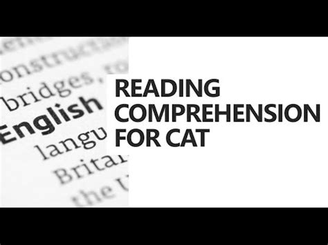 reading comprehension test online for cat reading comprehension for cat aspirants strategies for