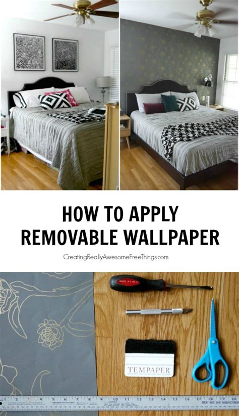 fun removable wallpaper how to apply removable wallpaper c r a f t