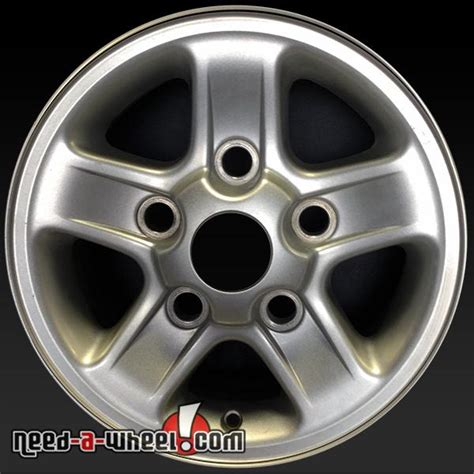16 quot land rover discovery wheels oem 97 98 silvr rims 72150
