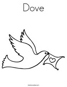 images doves peace kids coloring
