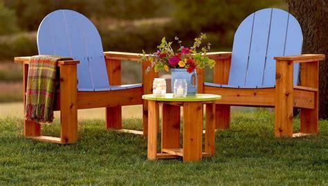 build adirondack chairs easy diy plans