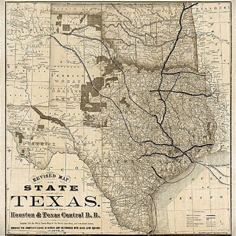 texas map prints buy 1876 texas map vintage historical wall map antique restoration hardware style map texas