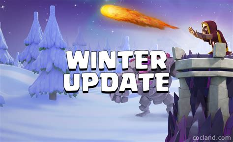 2016 new update clash of clans clash of clans december 2016 update the winter update is