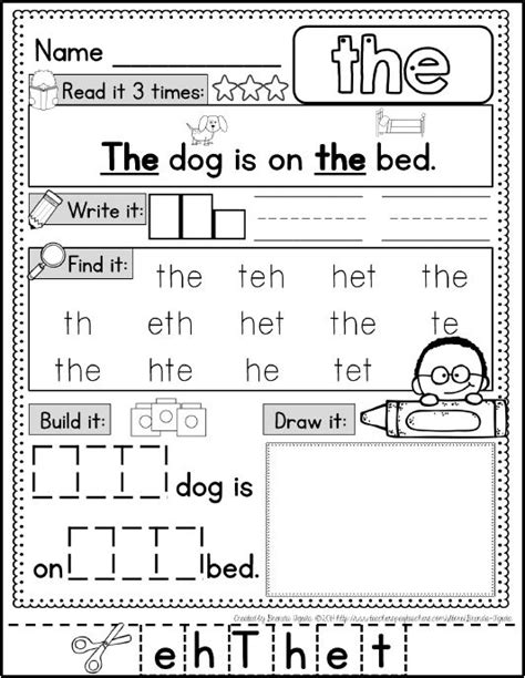 best 25 sight word worksheets interesting worksheets for teaching sight words with