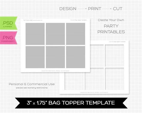 bag topper template 17 best images about bag toppers on