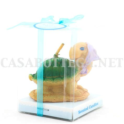 candele segnaposto candela tartaruga segnaposto bomboniera compleanno