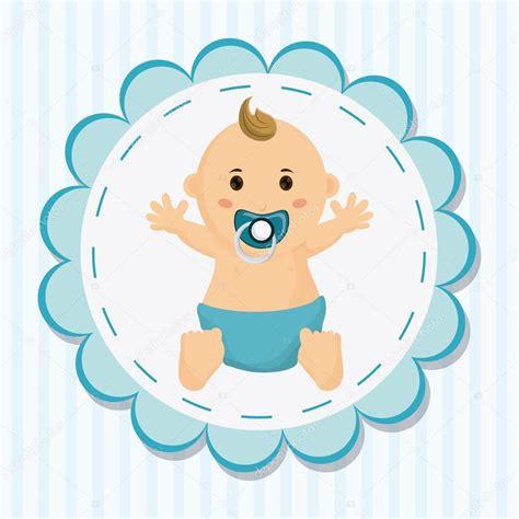 imagenes para relajar a bebes dibujos animados de ni 241 o beb 233 de concepto de ducha de beb 233