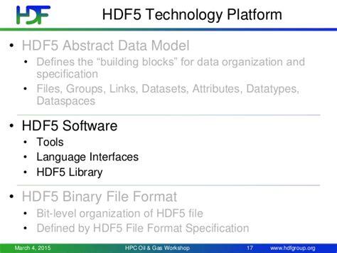 file format hdf5 hdf5 parallel