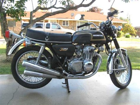 honda cb350 gallery 1974 honda cb350 4 classic motorcycle pictures