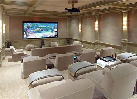 light  bright theater room home theaters gyms game