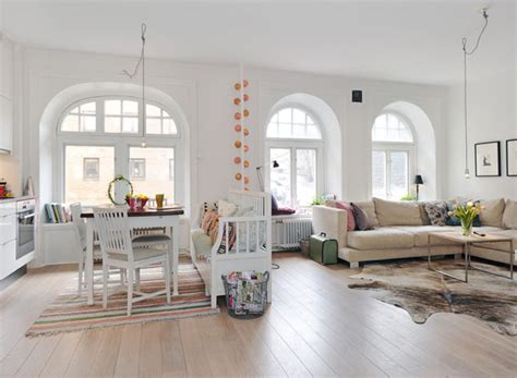 one room living 35 light and stylish scandinavian living room designs