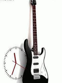 nokia themes guitar guitar clock nth theme free download dertz