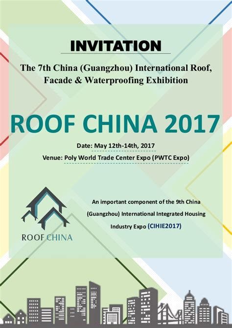 Standford Mba Invitations by Roof China 2017 Invitation