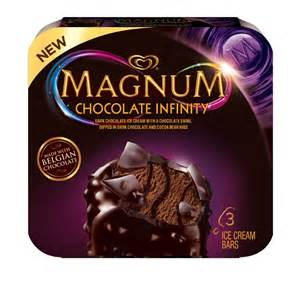 Infinity Chocolate News New Magnum Infinity Bars Brand