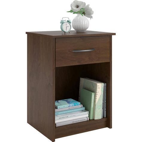 bedroom night stands nightstand night stand end table 1 drawer furniture