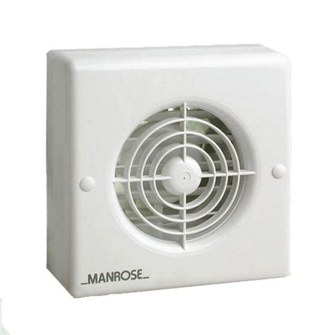 bathroom vent timer manrose xf100t 100mm extractor fan with adjustable