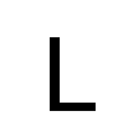 L Black black letter l pictures to pin on pinsdaddy