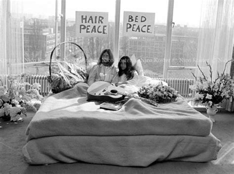 john lennon bed in john lennon and yoko ono the lost pictures stylefrizz
