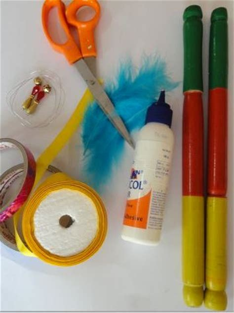 decorate dandiya sticks home how to make dandiya sticks at home