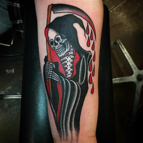 grim reaper tattoos designs creativefan