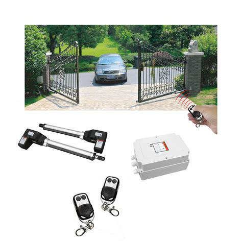 electric swing gate opener rotenbach swing gate opener automatic controller remote