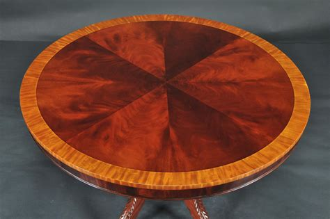 round mahogany dining table 44 quot reproduction antique round mahogany dining table 44 034 reproduction antique