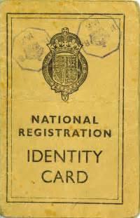 world war 2 identity card template ww2 national registration identity cards