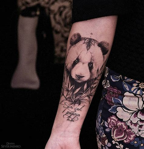 panda tattoo design best 25 panda tattoos ideas on animal tattoos