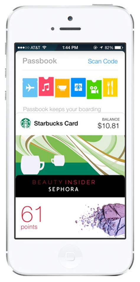 Gift Card Passbook - 10 awesome hidden features in ios 7 apple gazette