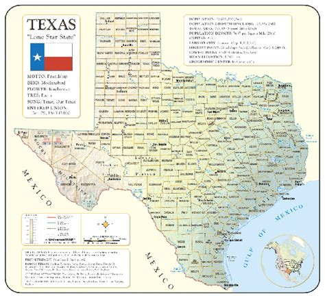 texas mileage map texas map mileage chart
