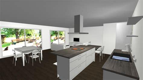 Idee Deco Maison En by Notre Maison Neuve Id 233 E D 233 Co Salon Salle 224 Manger