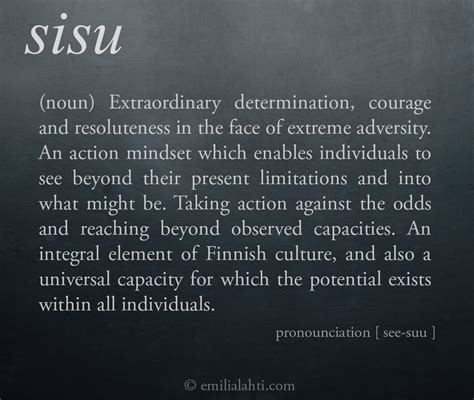 sisu tattoo above and beyond perseverance an exploration of sisu