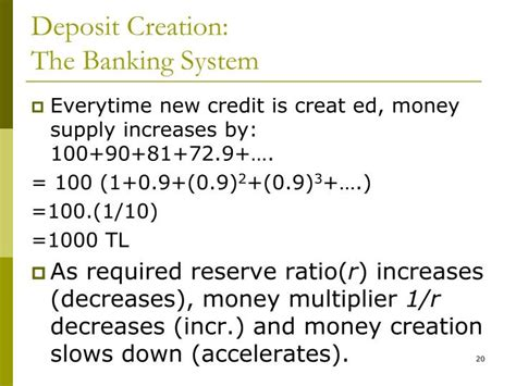 Credit Multiplier Formula Ppt Chapter 5 Powerpoint Presentation Id 809623