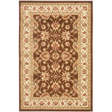kitchen rugs 6ft safavieh lyndhurst brown ivory 4 ft x 6 ft area rug