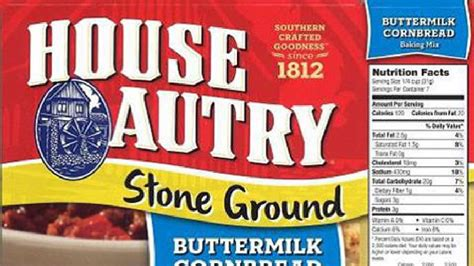 house autry house autry mills recalls cornbread biscuit mixes over salmonella concerns ktul