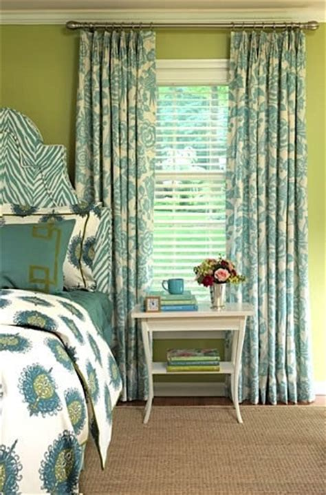 Hanging Curtains Higher Than Window Decor Using Mini Blinds In Rooms Kidspace Interiors