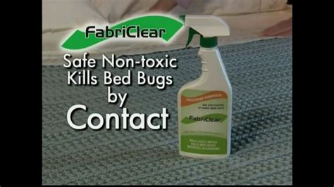 fabriclear bed bug fabriclear tv commercial for bed bugs ispot tv