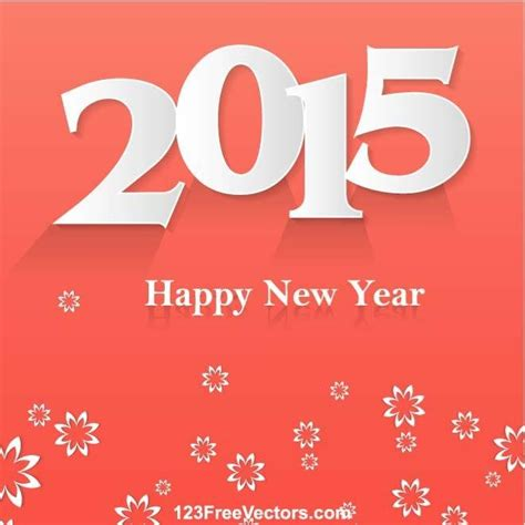 2015 happy new year vector happy new year 2015 poster vector ai 矢量图像 365psd