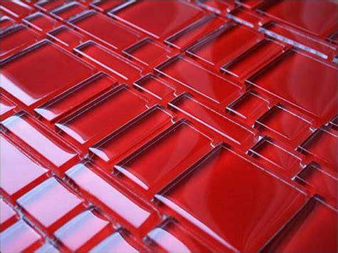 rote fliesen glasmosaik glas mosaik glasmosaikfliesen sicis mosaik