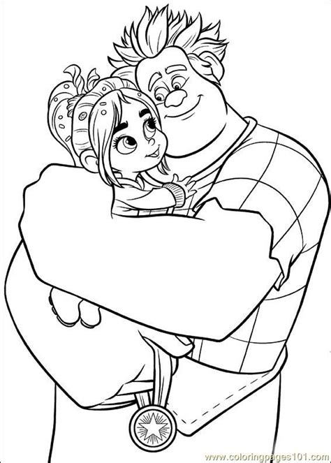 coloring pages wreck it ralph free coloring pages of wreck it ralph