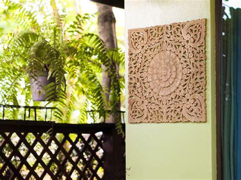 tropical outdoor wall decor tropical floral wall hanging home and garden decor