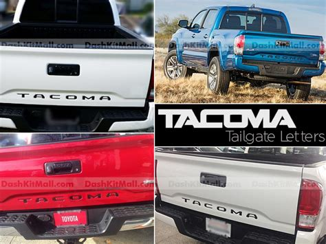 2010 Toyota Tacoma Tailgate The Shopping Cart Dash Trim Kits Floor Protection And