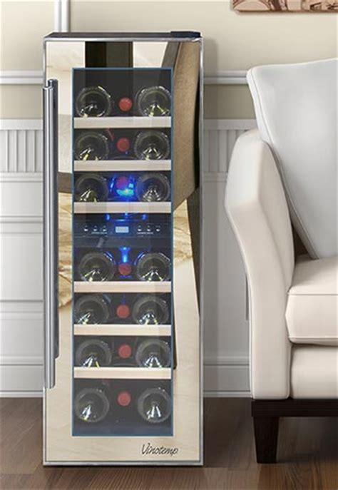 stair wine cooler mirrored wine coolers the wine refrigerator trend