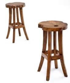 modern rustic bar stools wood contemporary