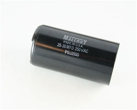 capacitor start motor applications psu2550 mallory capacitor 25uf 250v application motor start 2020048496