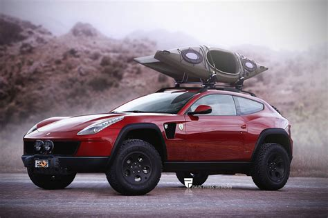 suv ferrari this is what a ferrari ff crossover suv would probably