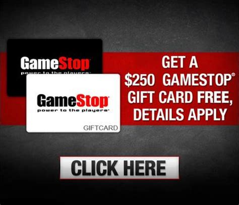 Game Shop Gift Card - how to get gamestop gift cards for free gamestop gift card prlog