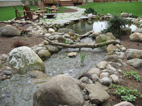 garten ideen steine garten steine eine gartengestaltung so nah an der natur